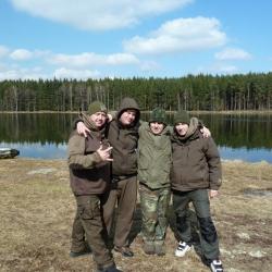 рибалка с друзями